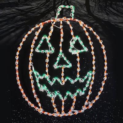 Holidynamics, Halloween Yard Decoration 44 in. Lighted LED Jack-O-Lantern