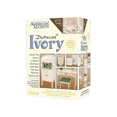 Distressed Ivory Finish Kit (3-Pack)
