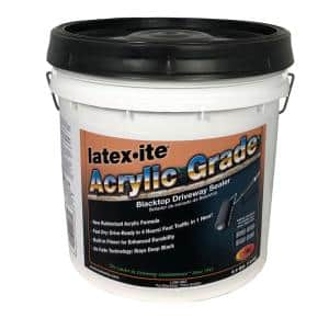 3.4 Gal. Blacktop Acrylic Grade Driveway Sealer