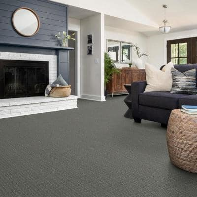 Boxton - Color Magnetic Pattern Gray Carpet