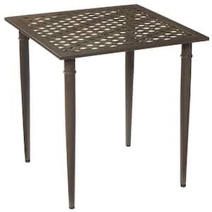 Oak Cliff Metal Outdoor Patio Bistro Table
