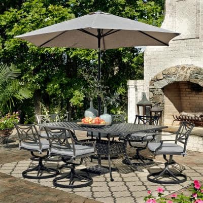Rocking Patio Dining Sets Patio Dining Furniture The Home Depot
