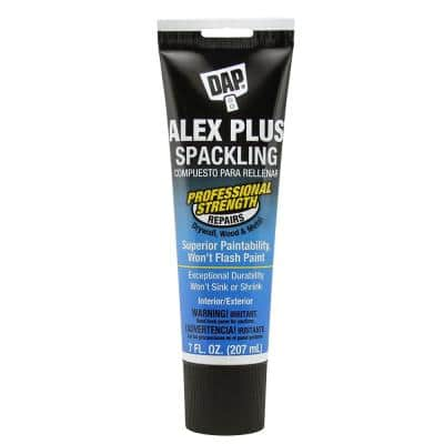 Alex Plus 7 oz. High Performance Spackling Paste Squeeze Tube (6-Pack)