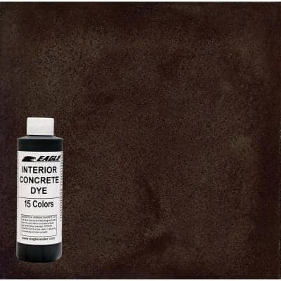 1 gal. Malt Brown Interior Concrete Dye Stain Makes with Water from 8 oz. Concentrate