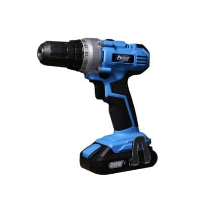 20-Volt Lithium-Ion Cordless 1/2 in. Drill/Driver with One 2 Ah Battery and 1-Hour Charger