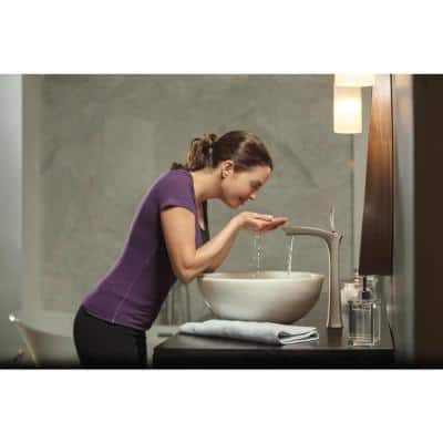Tesla Single Hole Single-Handle Vessel Bathroom Faucet in Stainless