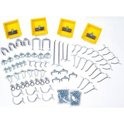 DuraHook 1/4 in. Pegboard Hook Kit Wall Organizer