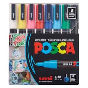 PC-3M Fine Bullet Paint Marker Set (8-Colors)