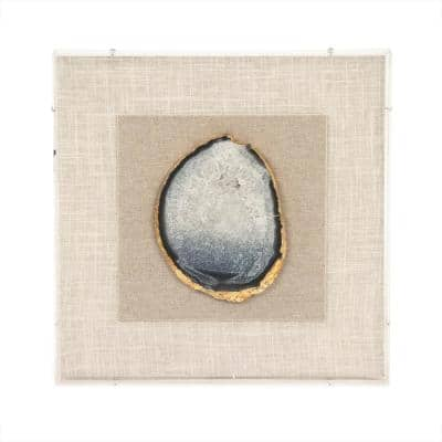 """Geode Acrylic Framed Wall Art"" by Zentique"
