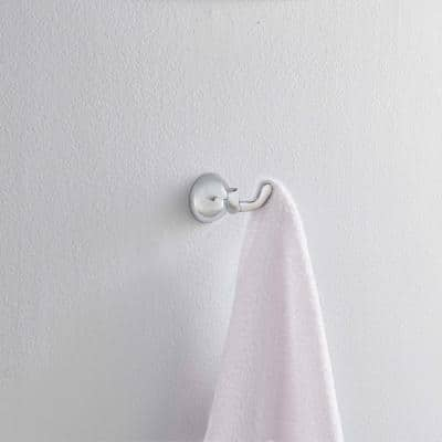 Foundations Double Towel Hook in Chrome