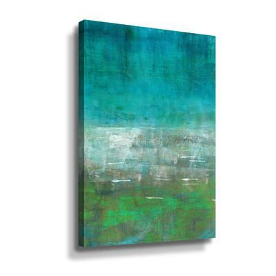 'Green Oasis' by  Iris Lehnhardt Canvas Wall Art