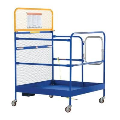 48 in. x 48 in. Steel Work Platform with Casters