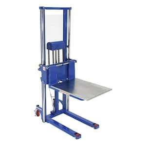 78 in. x 44 in. x 24 in. Foot Pump Steel Hefti-Lift