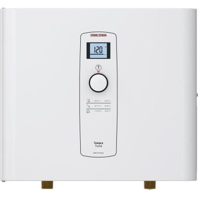 Tempra 12 Trend Self-Modulating 12 kW 2.34 GPM Compact Residential Electric Tankless Water Heater