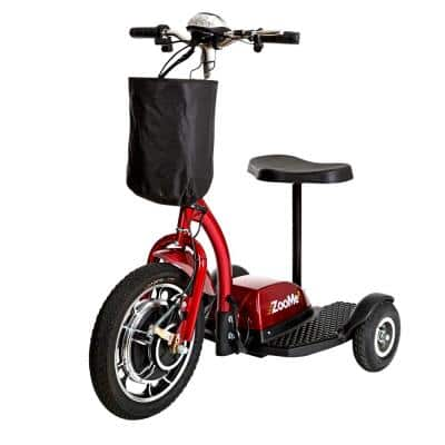 ZooMe 3-Wheel Recreational Power Scooter