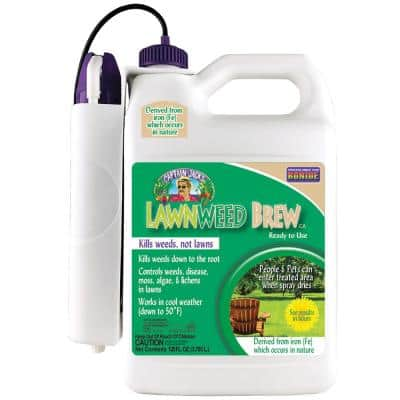 Captain Jack's Lawnweed Brew CA RTU Gal Battery Powered Wand