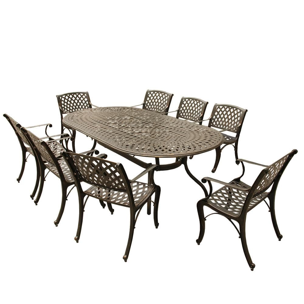 Reviews For Contemporary Modern Mesh, Modern Outdoor Dining Sets For 8