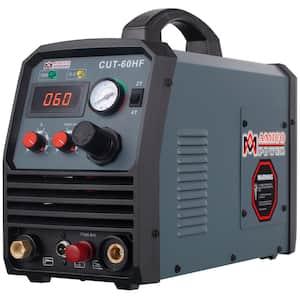 60 Amp 95-Volt to 260-Volt Wide Voltage Non-Touch Pilot Arc Plasma Cutter with 4/5 in. Clean Cut Cutting Machine