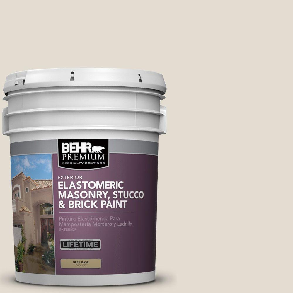 5 gal. #MS-19 Meadowbrook Elastomeric Masonry, Stucco and Brick Exterior Paint