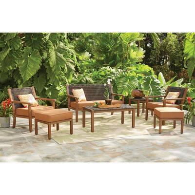 Kapolei Wicker Outdoor Side Table