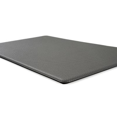 Gray Solid 18 in. x 47 in. Anti Fatigue Standing Mat