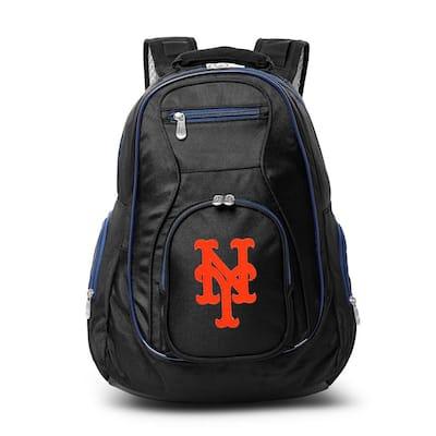 MLB New York Mets 19 in. Black Trim Color Laptop Backpack