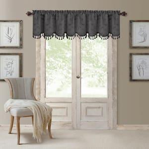 Mia Beaded Scallop Window Valance