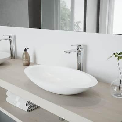 Norfolk Single Hole Single-Handle Vessel Bathroom Faucet in Chrome
