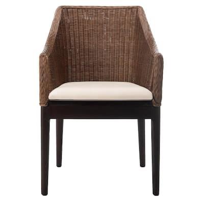 Enrico Brown Accent Chair