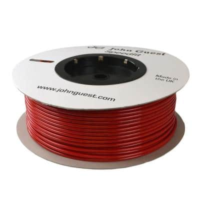 1/4 in. x 500 ft. Polyethylene Tubing Coil in Red