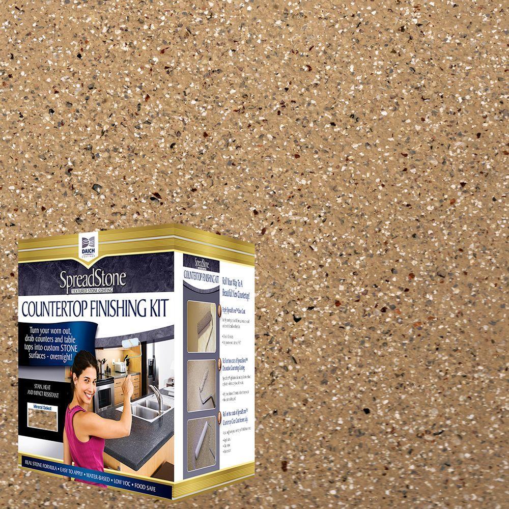 Mineral Select 1 qt. Canyon Gold Countertop Refinishing Kit