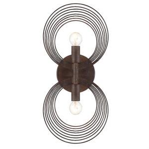 Doral 2-Light Forged Bronze Sconce