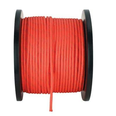 1/8 in. x 500 ft. Reflective Paracord, Orange