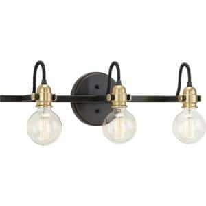 Axle Collection 3-Light Antique Bronze Vintage Wall Light