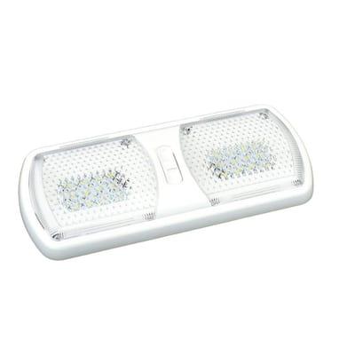 Bright White Interior LED Double Dome Light
