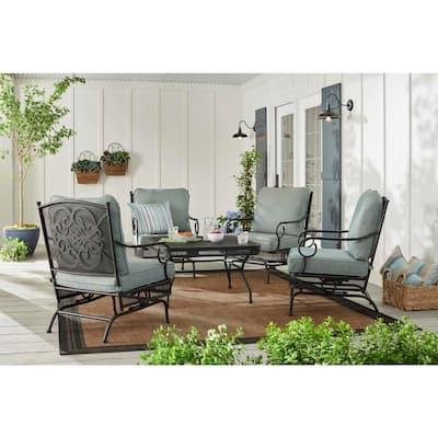 Amelia Springs Metal Outdoor Coffee Table