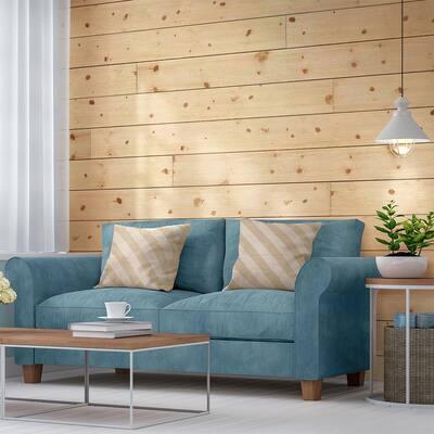 1 in. x 8 in. x 8 ft. Barn Wood Shiplap Pine Board (6-Pack)