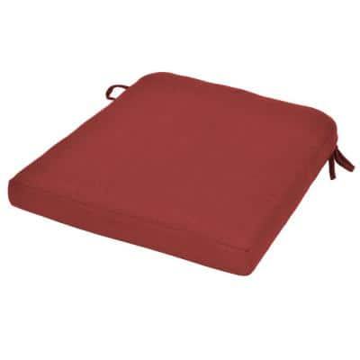 Beverly Chili Replacement Outdoor Dining Chair Cushion