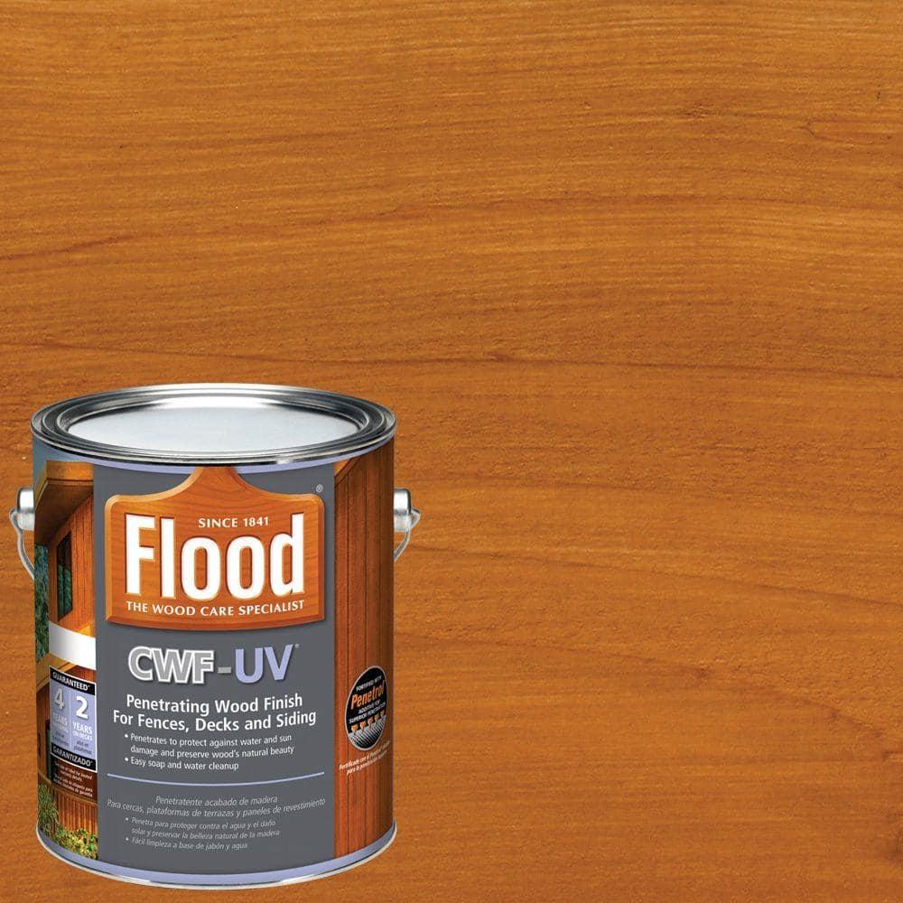 Flood 1 gal. Cedar Tone CWF-UV Exterior Wood Finish