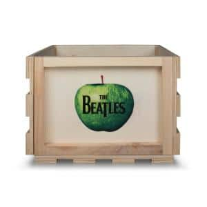 The Beatles Apple Record Storage Crate