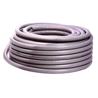 1/2 in. x 100 ft. Liquidtight Flexible Metallic Titan Steel Conduit