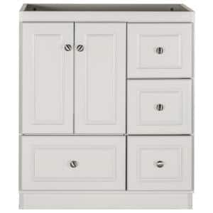 Ultraline 30 in. W x 21 in. D x 34.5 in. H Simplicity Vanity with Right Drawers in Dewy Morning