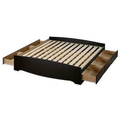 Sonoma Queen Wood Storage Bed