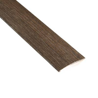 Smoked Gray Acacia 3/8 in. Thick x 2 in. Wide x 78 in. Length Hard Surface Reducer Molding