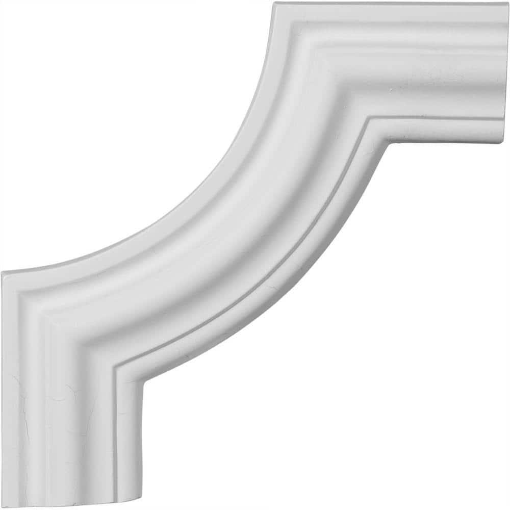 10 5//8 X 10 5//8 Ekena Millwork PML10X10PM Pompeii Panel Molding Corner