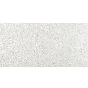 2 ft. x 4 ft. Radar White Square Edge Lay-In Commercial Ceiling Tile, carton of 8 (64 sq. ft)