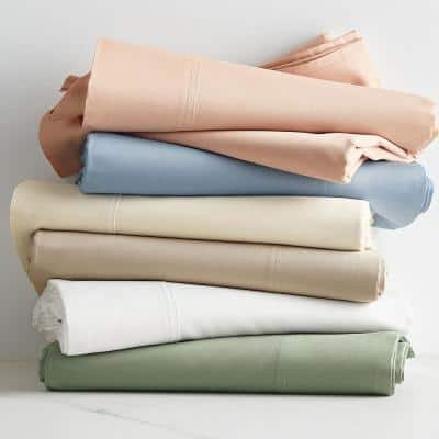 300-Thread Count Bamboo Cotton Sateen Duvet Cover