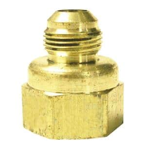 3/8 in. Flare x 1/2 in. FIP Brass Adapter Fitting