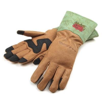 Signature Thorn Rose Gloves (Women's S)