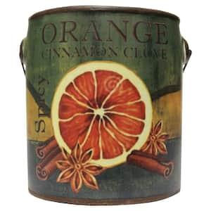 Farm Fresh Ceramic Candle Orange Cinnamon Clove